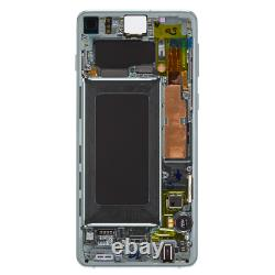 Original Samsung Galaxy S10 SM-G973F LCD Display Touch Screen Bildschirm Grün