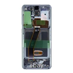 Original Samsung Galaxy S20 G980F G981F LCD Display Touch Screen Digitizer Grau