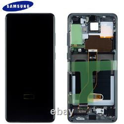 Original Samsung Galaxy S20 Plus G985F 5G G986B LCD Display Touch Screen Schwarz