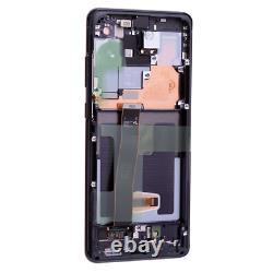 Original Samsung Galaxy S20 Ultra G988F G988B 5G LCD Display Touch Screen Black
