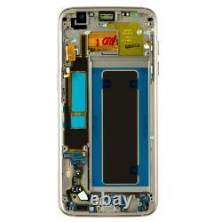 Original Samsung Galaxy S7 EDGE G935F LCD Display Touch Screen Bildschirm Gold