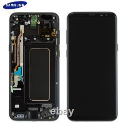 Original Samsung Galaxy S8 Plus G955F LCD Display Touch Screen Digitizer Schwarz