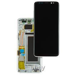 Original Samsung Galaxy S8 SM-G950F LCD Display Touch Screen Bildschirm Silber