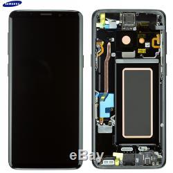 Original Samsung Galaxy S9 SM-G960F LCD Display Touch Screen Bildschirm Schwarz