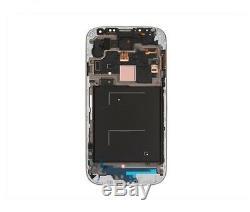 PANTALLA TÁCTIL LCD completa PARA SAMSUNG GALAXY S4 SIV BLANCO CON MARCO
