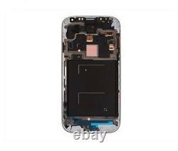 Pantalla LCD Completa Para Samsung Galaxy S4 (siv) Gris Oscuro Con Marco
