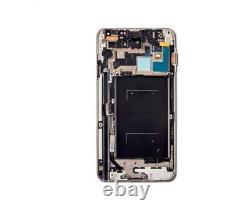 Pantalla Tactil LCD Completa Para Samsung Galaxy Note 3 Negro Con Marco Gris