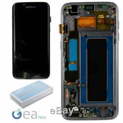 SAMSUNG Display LCD Originale + Touch Screen Per Galaxy S7 Edge G935F Nero Black