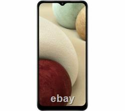SAMSUNG Galaxy A12 Mobile Smart Phone 64 GB, White Currys