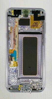 SAMSUNG Galaxy S8 plus Gray Violet LCD Screen Digitizer Frame G955 NEW S8+ OEM