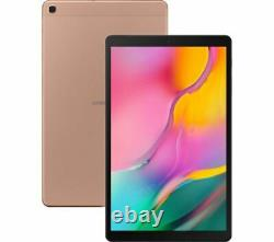 SAMSUNG Galaxy Tab A 10.1in Gold Tablet (2019) 32GB Android 9.0 (Pie)