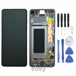 Samsung Display Full LCD Komplettset GH82-18850A Schwarz für Galaxy S10 G973F