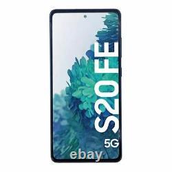 Samsung Display LCD Kompletteinheit für Galaxy S20 FE 5G GH82-24214A Blau