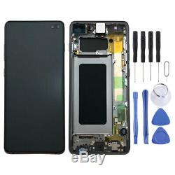 Samsung Display LCD Komplettset GH82-18849A Schwarz für Galaxy S10 Plus G975F