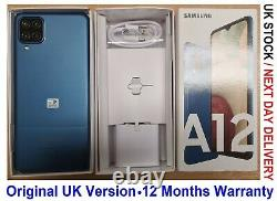Samsung Galaxy A12 Blue 64GB 2021 Unlocked 4G A125F/DS UK Version
