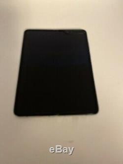 Samsung Galaxy Fold 512GB Black Unknown Carrier Google Lock Bad LCD 5t