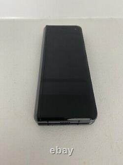 Samsung Galaxy Fold 512GB Cosmos Black ATT Bad LCD 7C
