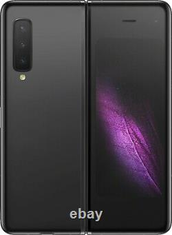 Samsung Galaxy Fold SM-F900U 512GB Cosmos Black (AT&T) Bad LCD 5T