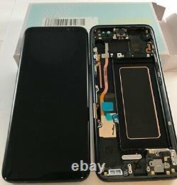 Samsung Galaxy G950F S8 100% Genuine LCD SM-G950F Digitizer Screen Display Black