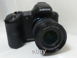 Samsung Galaxy NX EK-GN120 Mirrorless Camera WiFi 4G 20.3MP 18-55mm Lens VGC