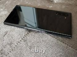Samsung Galaxy Note 10 Plus 256G 5G SM-N976B Aura Black Unlocked (DAMAGED LCD)