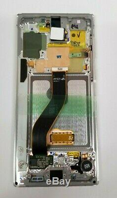 Samsung Galaxy Note 10 White LCD Display Touch Screen Digitizer + Frame N970 OEM