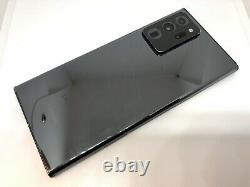 Samsung Galaxy Note 20 Ultra 5G Black T-Mobile Clean IMEI Cracked LCD Damage