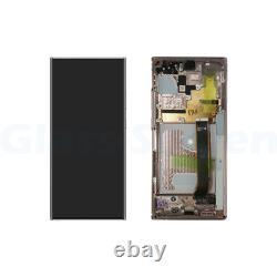 Samsung Galaxy Note 20 Ultra 5G N986 4G N985 LCD Screen Digitizer Frame Bronze
