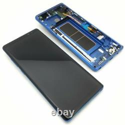 Samsung Galaxy Note 8 N950f LCD Touch Screen Display Original Genuine Blue