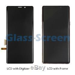 Samsung Galaxy Note 9 N960 LCD Screen Digitizer or Frame Black Blue Purple