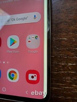 Samsung Galaxy S10+ Plus G975U1 (Unlocked/Verizon) 128GB White SPOT/LINE ON LCD