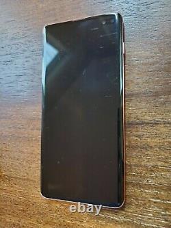 Samsung Galaxy S10+ Plus SM-G975U (Unlocked/Verizon) 128GB Pink SPOT ON LCD