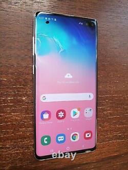 Samsung Galaxy S10+ Plus SM-G975U (Unlocked/Verizon) 128GB White SPOTS ON LCD