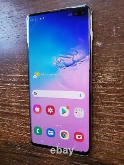Samsung Galaxy S10+ Plus SM-G975U (Verizon) 128GB Black SMALL SPOTS ON LCD