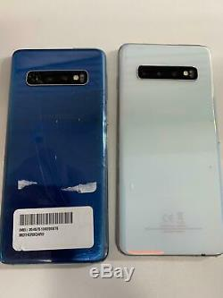 Samsung Galaxy S10 SM-G973U (AT&T Unlocked) CRACKED GLASS, BAD LCD