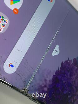 Samsung Galaxy S20+ 5G SM-G986B/DS 128GB Cosmic Black (Unlocked) FAULTY LCD 920