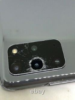 Samsung Galaxy S20+ 5G (SM-G986U1) Consumer Cellular Cracked Glass, Bad LCD