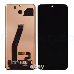 Samsung Galaxy S20 G980, 5G G981A G981B G981U AMOLED LCD Screen Digitizer, Black