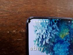 Samsung Galaxy S20+ Plus 5G G986U (Unlocked/Sprint) 128GB Aura Blue LCD ISSUES