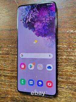 Samsung Galaxy S20+ Plus 5G SM-G986U1 (Unlocked) 512GB Black LIGHT LCD BURN