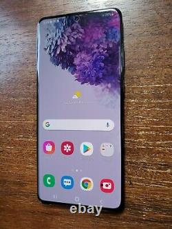 Samsung Galaxy S20+ Plus G986U (Unlocked/Verizon) 512GB Black SMALL LCD SPOTS