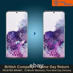 Samsung Galaxy S20 Plus LCD OLED Screen Glass Replacement Service Sameday Repair