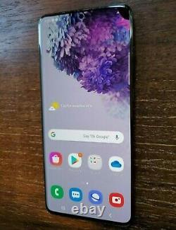 Samsung Galaxy S20+ Plus SM-G986U1 (Factory Unlocked) 128GB Black LCD ISSUES