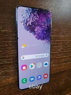 Samsung Galaxy S20+ Plus SM-G986U1 (Unlocked) 128GB Black TINY SPOT ON LCD