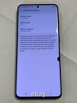 Samsung Galaxy S20 Ultra 5G 128GB (Unlocked) Lcd, Back Clean Imei (Read) #2199