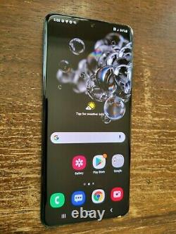 Samsung Galaxy S20 Ultra 5G G988U (Unlocked/AT&T) 512GB Black LCD BURN