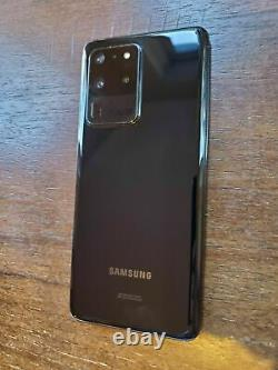 Samsung Galaxy S20 Ultra 5G G988U1 (Factory Unlocked) 128GB Black SMALL LCD SPOT