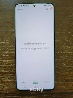 Samsung Galaxy S20 Ultra 5G G988U1 (Factory Unlocked) 512GB Black LIGHT LCD BURN