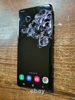 Samsung Galaxy S20 Ultra 5G SM-G988U (T-Mobile) 128GB Black SPOT/BUBBLES ON LCD