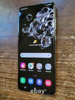 Samsung Galaxy S20 Ultra 5G SM-G988U1 (Unlocked) 128GB Gray SPOT/BUBBLES ON LCD